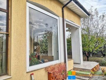 folie transparentă, folie terasă, rulou transparent