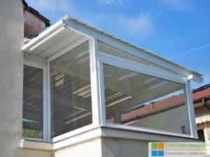 prelată terasă, folie transparentă