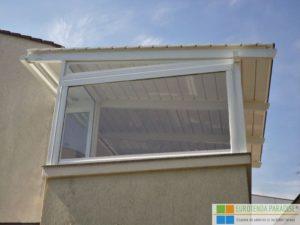 folie terasa transparentă