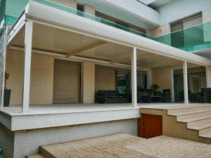 pergole pentru amenajare terase
