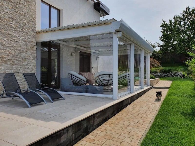 folie terasă transparentă cluj