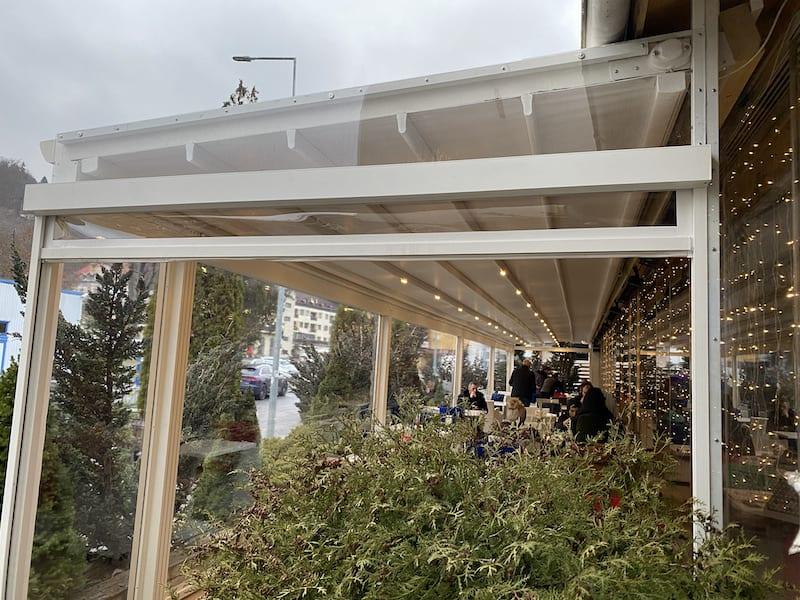 tipuri de terase cu folii transparente