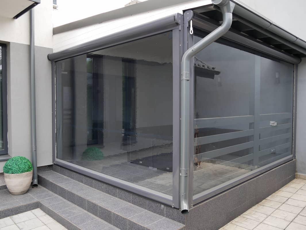 folii transparente închideri terase