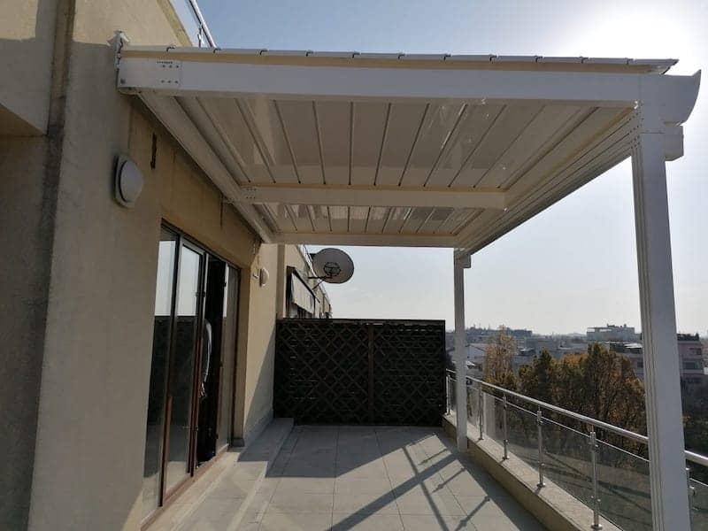 acoperis terasa retractabil